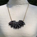 Letter Petals Necklace